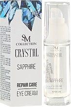 Parfumuri și produse cosmetice Cremă regenerantă pentru pleoape - SM Collection Crystal Sapphire Eye Cream