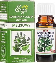Parfumuri și produse cosmetice Ulei esențial de melisă - Etja Natural Essential Oil