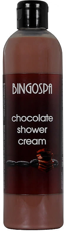 Cremă de duș cu ciocolată - BingoSpa