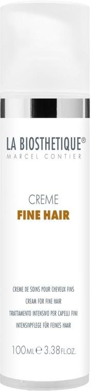 Crema hidratantă de păr - La Biosthetique Creme Fine Hair — Imagine N1