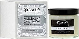 """Parfumuri și produse cosmetice Lumânare aromatică """"Ciocolată"""" - Eco Life Candles"""