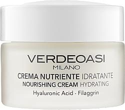 Parfumuri și produse cosmetice Cremă hidratantă hrănitoare pentru față - Verdeoasi Nourishing Cream Hydrating