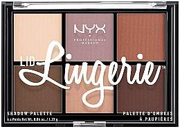 Parfumuri și produse cosmetice Paletă fard de ochi - NYX Professional Makeup Lingerie Shadow Palette