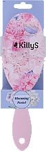 Parfumuri și produse cosmetice Perie de păr, roz - KillyS Blooming Pastel Hairbrush
