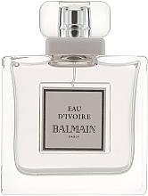 Parfumuri și produse cosmetice Balmain Eau d'Ivoire Pierre - Apă de toaletă (tester cu capac)