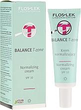 Parfumuri și produse cosmetice Cremă de zi pentru față - FlosLek Balance T-Zone Normalizing Day Cream SPF 10