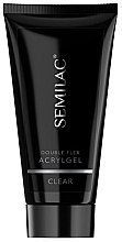 Parfumuri și produse cosmetice Acryl pentru unghii - Semilac Double Flex Acrylgel