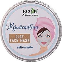 Parfumuri și produse cosmetice Mască antirid pe bază de argilă - Eco U Anti-Wrinkle Clay Face Mask