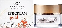Parfumuri și produse cosmetice Crema contur ochi - Hristina Cosmetics Orient Gold Eye Cream