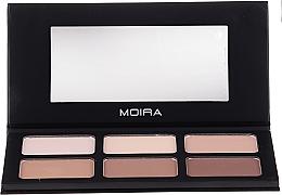 Parfumuri și produse cosmetice Paletă pentru contouring - Moira Highlight & Contour Palette