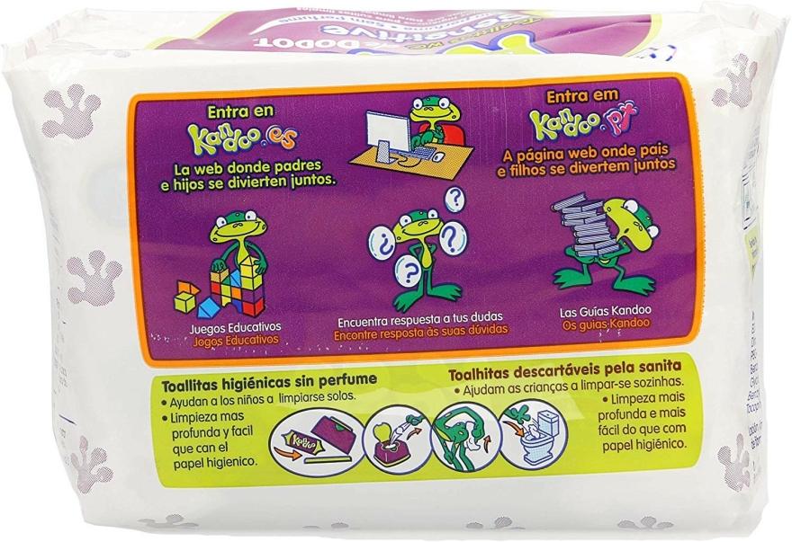 """Hârtie igienică umedă """"Kandoo"""" pentru copii - Dodot — Imagine N2"""