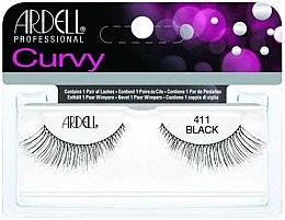 Parfumuri și produse cosmetice Extensii gene - Ardell Curvy Lash Black 411
