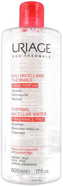 Apă micelară pentru piele sensibilă - Uriage Thermal Micellar Water Intolerant Skin — Imagine N1