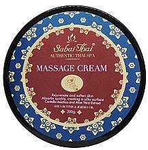 Parfumuri și produse cosmetice Cremă pentru masaj - Sabai Thai Jasmine Aroma Massage Cream