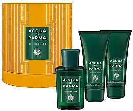 Parfumuri și produse cosmetice Acqua di Parma Colonia Club - Set (edc/100ml+sh/gel/75ml+Asb/75ml)