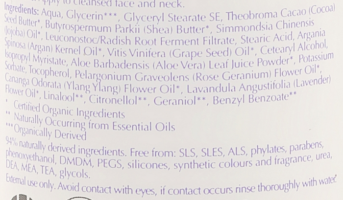 Cremă de față - Bentley Organic Skin Blossom Age Resist Face Cream — Imagine N3
