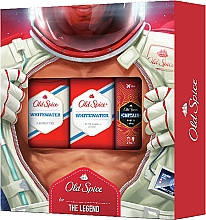 Parfumuri și produse cosmetice Set - Old Spice Whitewater Astronaut (sh/gel/50ml +deo/50ml + ash/lot/100ml)