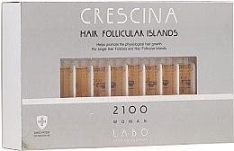 Parfumuri și produse cosmetice Loțiune pentru stimularea creșterii părului, pentru femei, 2100 - Crescina Hair Follicular Island 2100 Woman