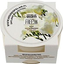 Parfumuri și produse cosmetice Lumânare aromată - House of Glam Freesia Alba Candle (mini)