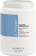 Parfumuri și produse cosmetice Mască multivitamină pentru păr - Fanola Frequent Multi Vitamin Mask