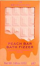 "Parfumuri și produse cosmetice Bombă de baie - I Heart Revolution Chocolate Bar Bath Fizzer ""Peach"""