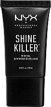 Parfumuri și produse cosmetice Bază de machiaj cu efect matifiant - NYX Professional Makeup Shine Killer
