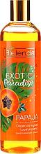 "Parfumuri și produse cosmetice Gel de duș ""Papaya"" - Bielenda Exotic Paradise Bath & Shower Oil"