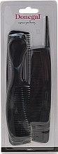 Parfumuri și produse cosmetice Set Pieptene de păr, negru, 9816, 6 buc. - Donegal Hair