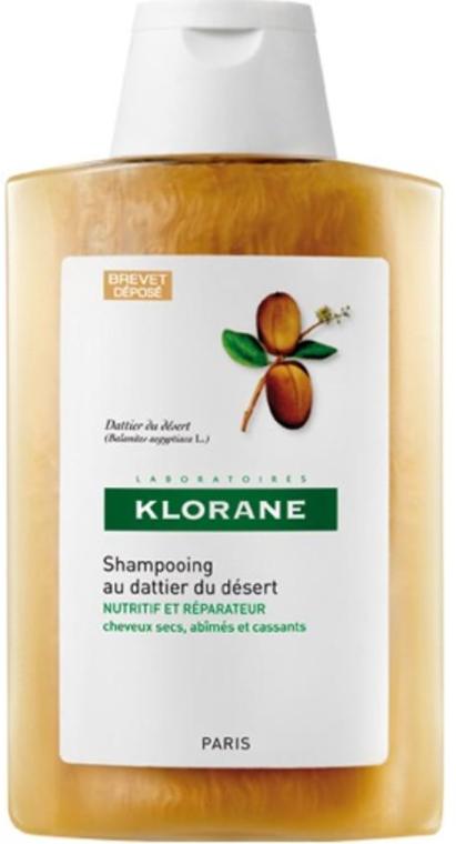 Șampon de păr - Klorane Shampoo With Desert Date — Imagine N1
