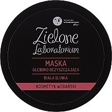 Parfumuri și produse cosmetice Mască profundă de curățare cu argilă albă pentru față - Zielone Laboratorium