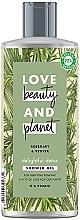 "Parfumuri și produse cosmetice Gel detox de duș ""Rozmarin și Vetiver"" - Love Beauty&Planet Delightful Detox Rosemary & Vetiver Shower Gel"