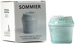 Parfumuri și produse cosmetice Suport periuță de dinți, albastru - NaturBrush Sommier Toothbrush Holder