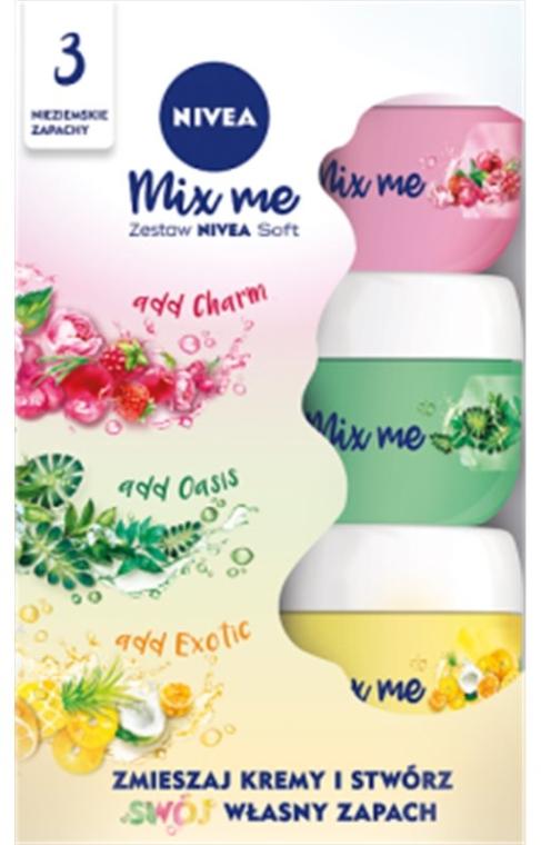 Set - Nivea Soft (cr/50ml + cr/50ml + cr/50ml)