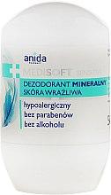 Parfumuri și produse cosmetice Deodorant mineral - Anida Pharmacy Medisoft Mineral Deo