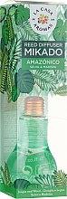 "Parfumuri și produse cosmetice Difuzor aromatic ""Jungla amazoniană"" - La Casa de Los Aromas Mikado Reed Diffuser"