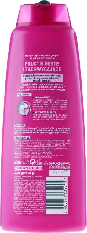 "Șampon ""Păr des și luxos"" - Garnier Fructis Densify — Imagine N4"