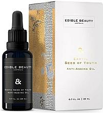Parfumuri și produse cosmetice Ulei de față cu efect anti-îmbătrânire - Edible Beauty Exotic Seed of Youth Anti-Ageing Oil