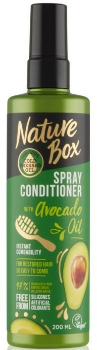 Spray-balsam de păr - Nature Box Avocado Oil Spray Conditioner — Imagine N1