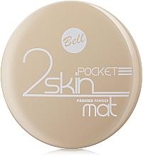 Pudră compactă matifiantă - Bell 2 Skin Pocket Pressed Powder Mat — Imagine N2