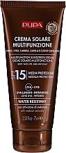 Parfumuri și produse cosmetice Cremă hidratantă cu protecție solară SPF 15 - Pupa Multifunction Sunscreen Cream