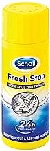 Parfumuri și produse cosmetice Deodorant-pudră pentru picioare - Scholl Fresh Step Foot & Shoe 2 in 1 Powder