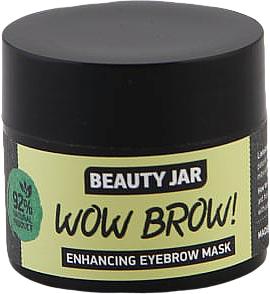 Mască pentru creșterea sprâncenelor - Beauty Jar Wow Brow! Enhancing Eyebrow Mask — Imagine N1