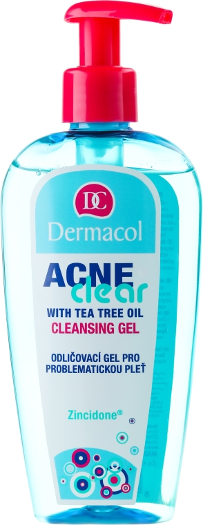 Gel pentru demachiere și curățare a pielii problematice - Dermacol Acne Clear Make-Up Removal & Cleansing Gel