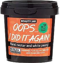 "Parfumuri și produse cosmetice Șampon pentru păr vopsit ""Oops…I did it again!"" - Beauty Jar Shampoo For Colour-Treated And Damaged Hair"