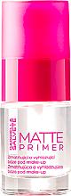 Parfumuri și produse cosmetice Bază de machiaj, cu efect matifiant - Gabriella Salvete Matte Primer
