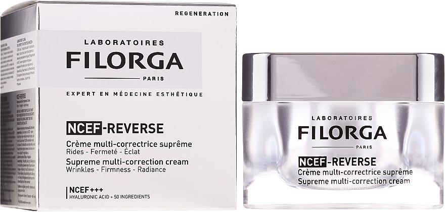 Fluid pentru față - Filorga NCTF-Reverse Supreme Regenerating Cream — Imagine N1