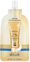 Parfumuri și produse cosmetice Cremă cu protecție solară pentru față SPF50 - Beausta UV Protector Sunscreen SPF50