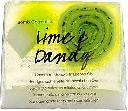 Parfumuri și produse cosmetice Săpun - Bomb Cosmetics Lime & Dandy Soap Block