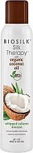 Parfumuri și produse cosmetice Mousse pentru aranjarea părului - Biosilk Silk Therapy with Coconut Oil Whipped Volume Mousse