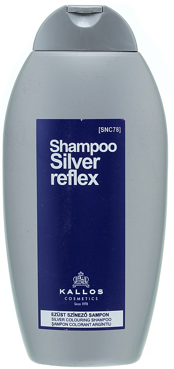 Șampon pentru păr grizonat - Kallos Cosmetics Silver Reflex Shampoo